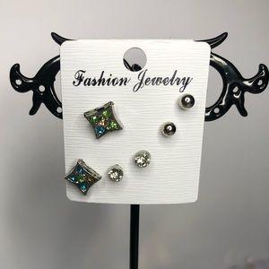 💥 Fashion Earrings. 3 pair set